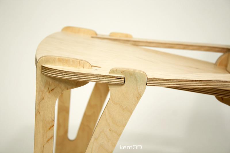 breakplane chair detail