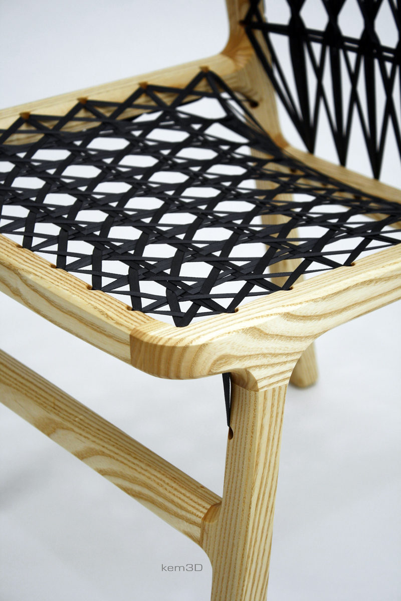 Rand Chair - ash (detail)