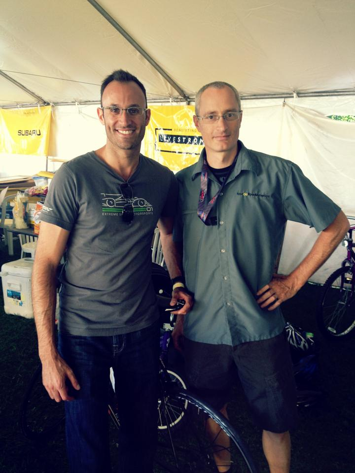Guy & Patrick Robb from TdRA