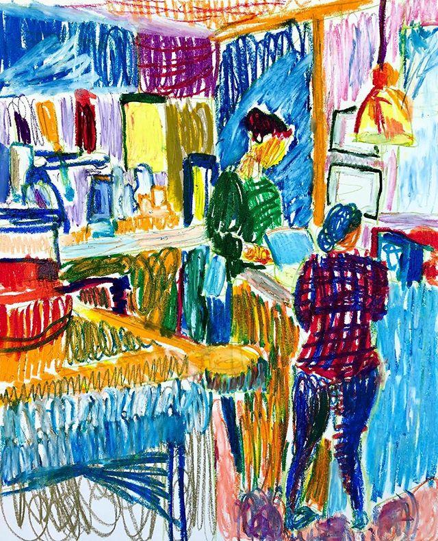 #oilpastel #oilpastels #oilpastelart #oilpasteldrawing #oilpastelpainting #oilpastelsketch #atlantaartist #atlantaart #artofatlanta #drawing #painting #sketching
