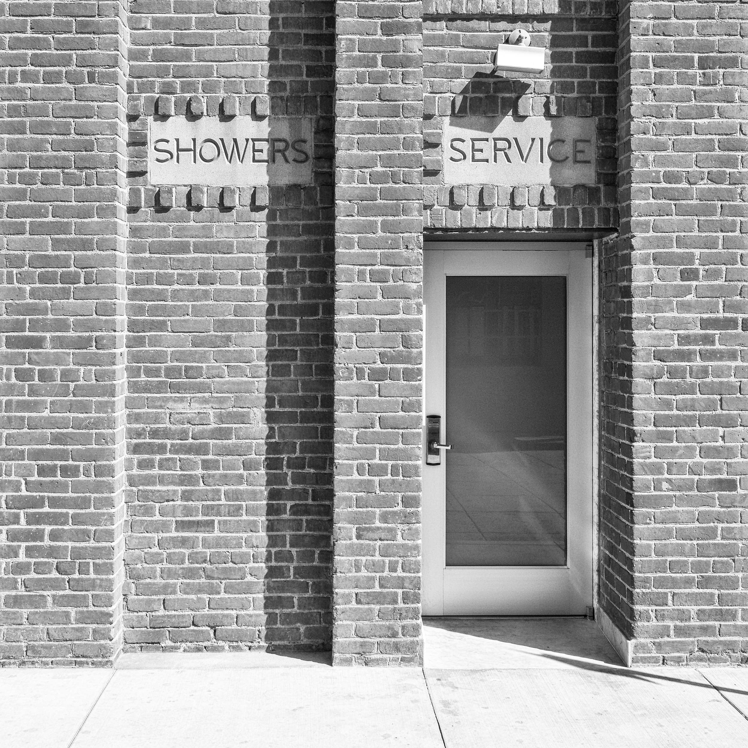 No Showers, Service