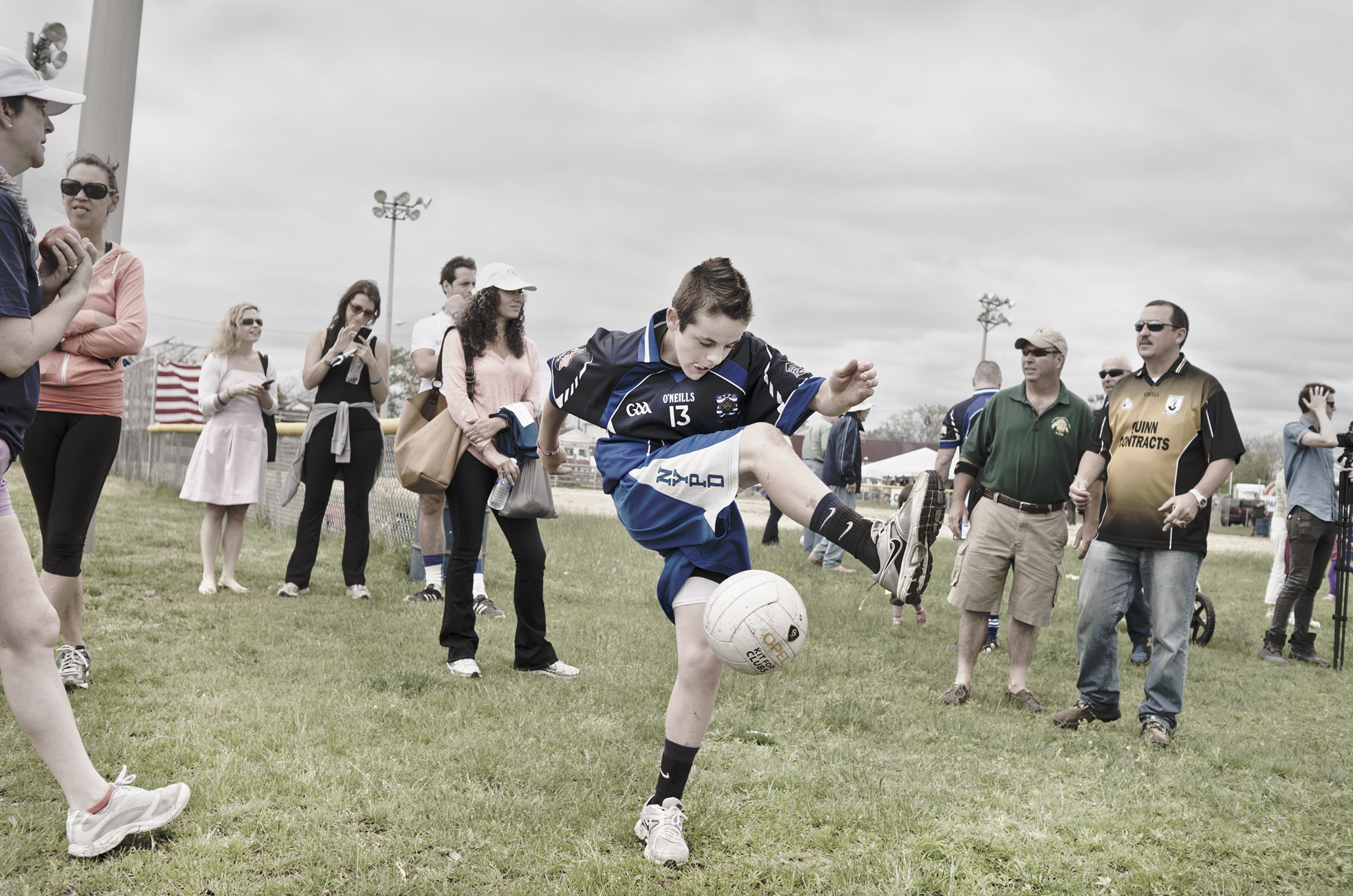 Gaelic football, Breezy Point, Queens NY. June 8, 2013.