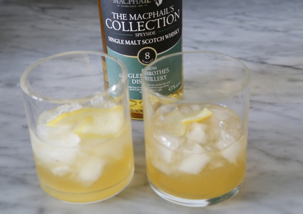Whiskey sours …my absolute favorite drink!