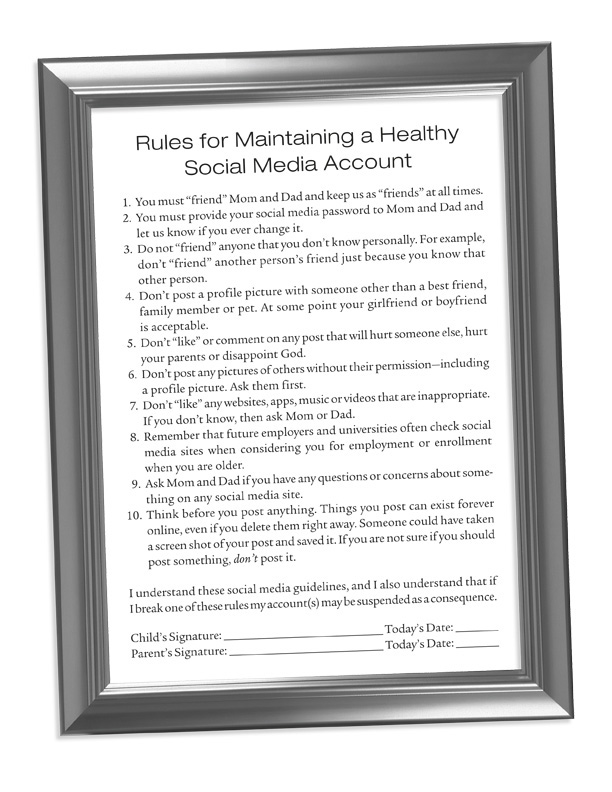 Click to Download The Rules For Maintaining A Healthy Social Media Account
