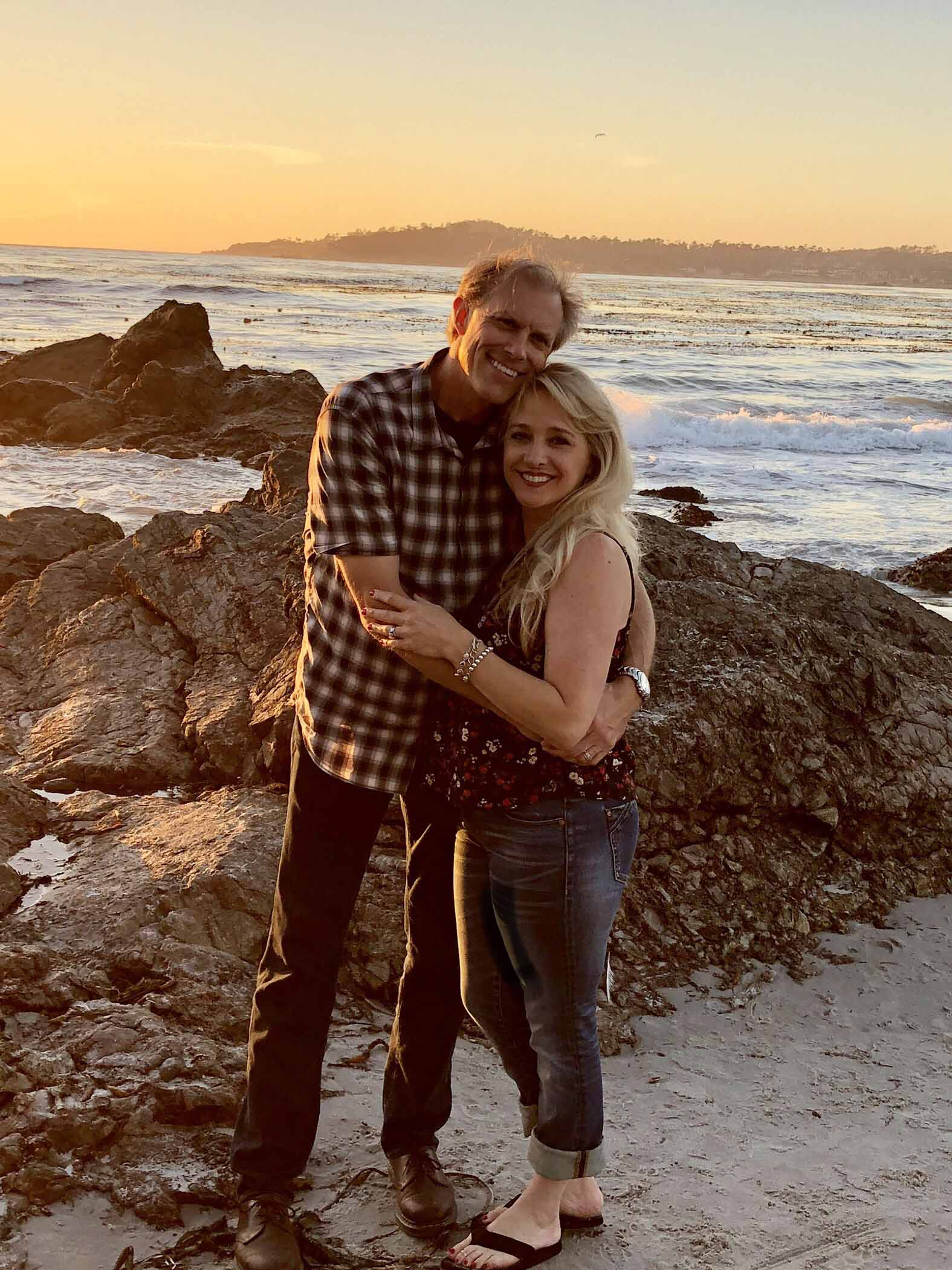 Craig and I in Carmel in September 2018. Our last time there together.