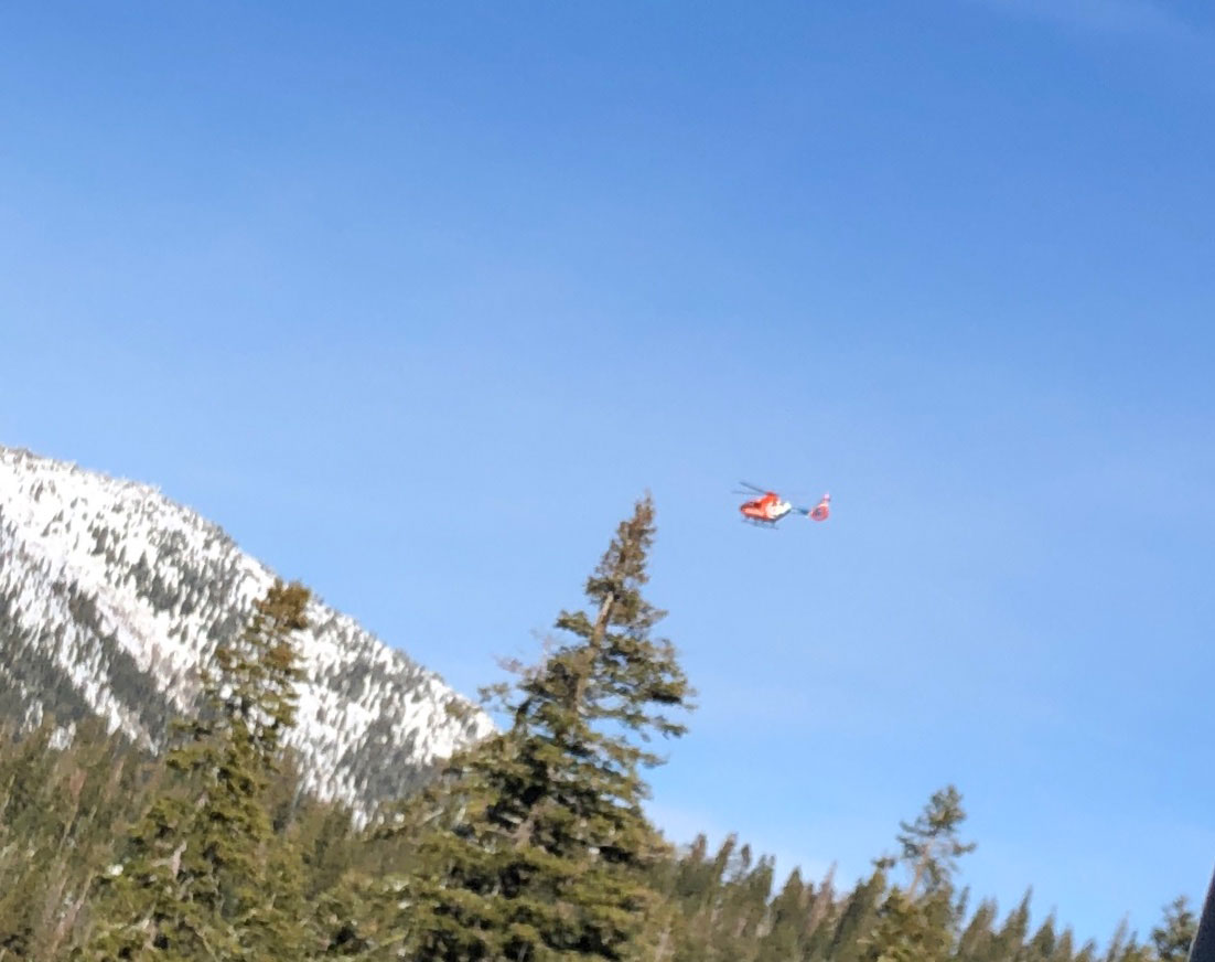 I prayed desperately as I saw the Air Evac helicopter lift up above the Tahoe trees, thinking Craig was on board and they were saving his life.