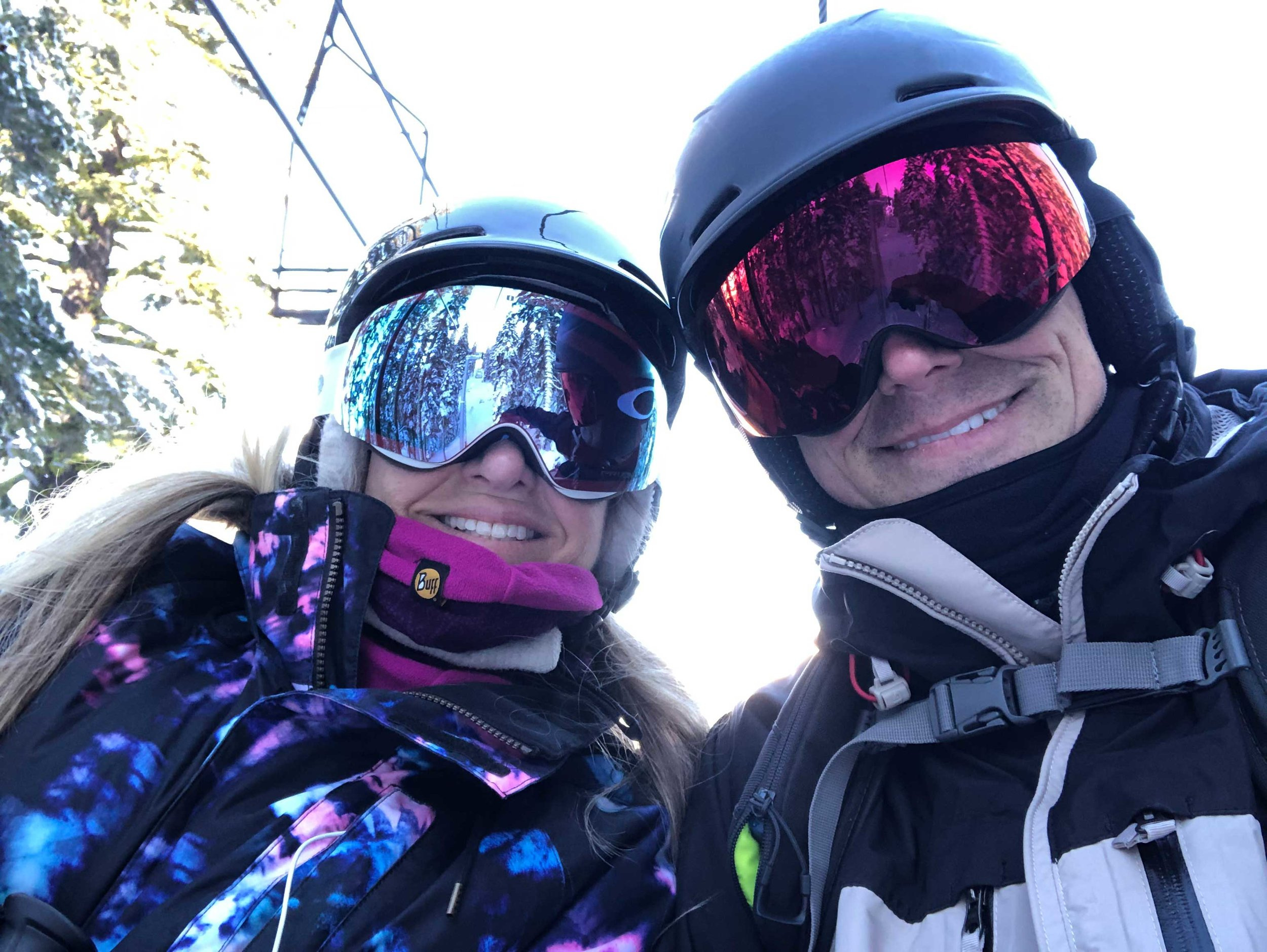 Our last couple picture taken together…Craig held out his phone on a chair lift and we smiled for a selfie. Happy. In Love. Content. Thankful. Not knowing we only had another hour together in this life.