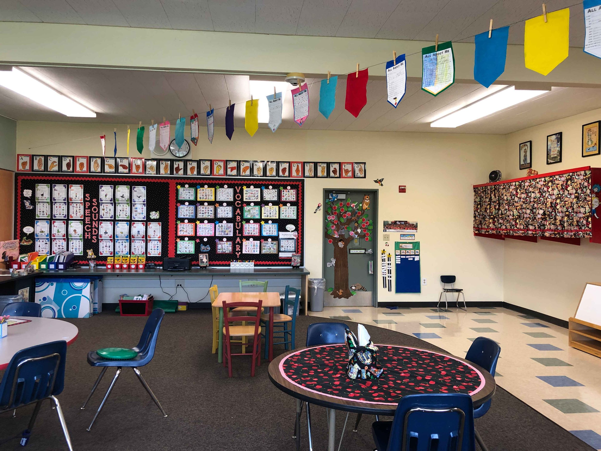 The finished product! My cute classroom at Argonaut.