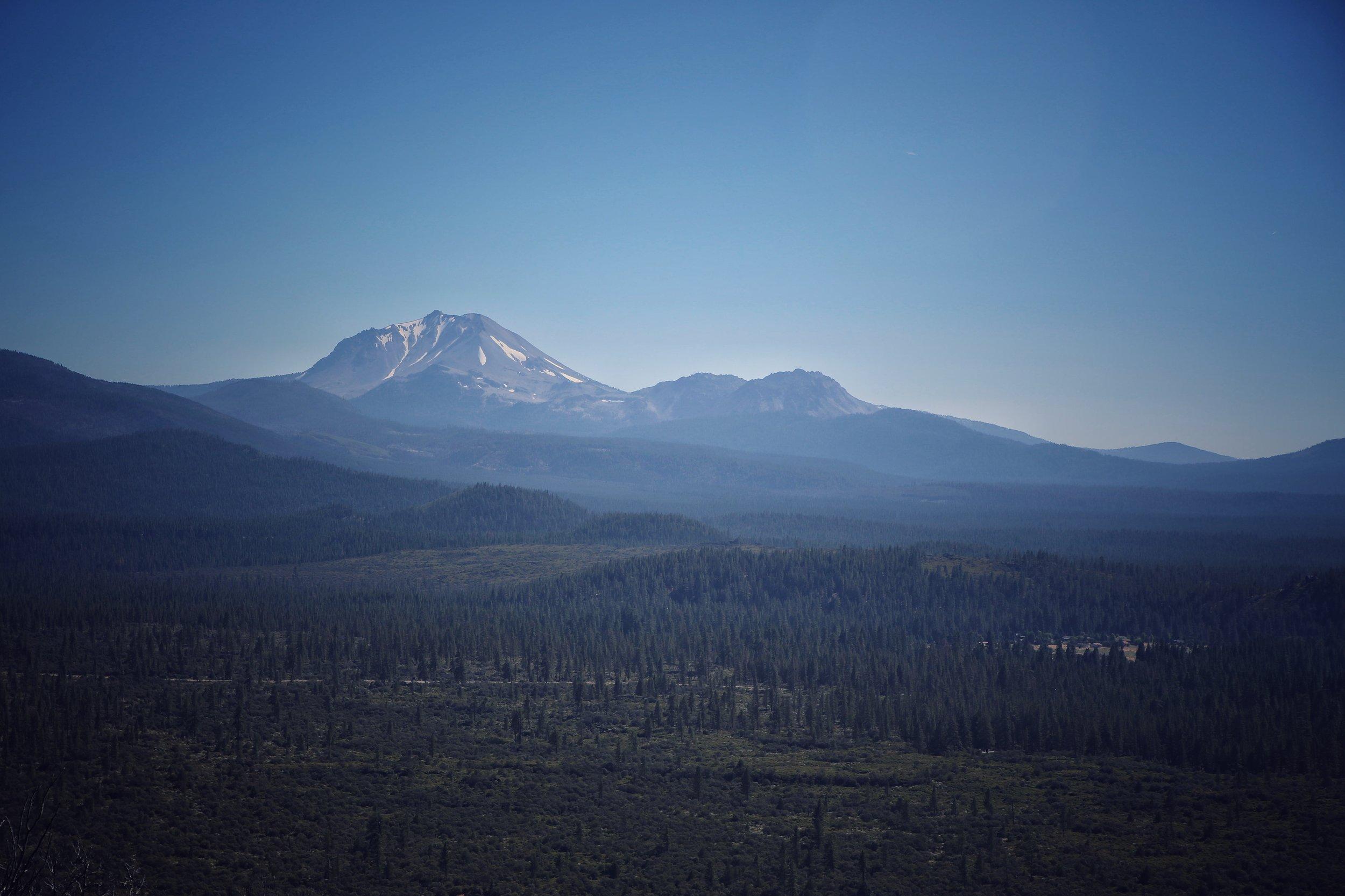 Mount Lassen, California.