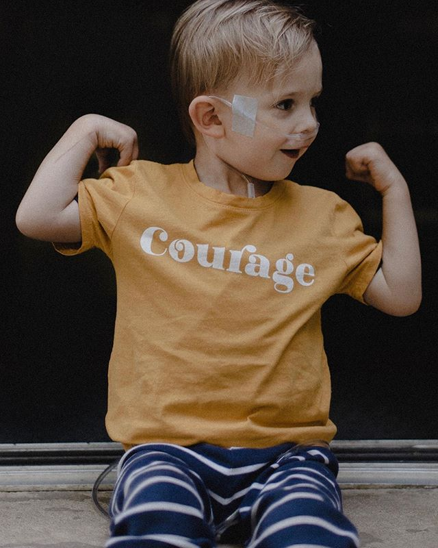 A portrait of courage. The truest I know.
