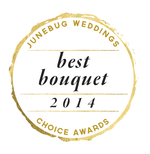 Junebug Weddings Choice Awards Best Bouquet