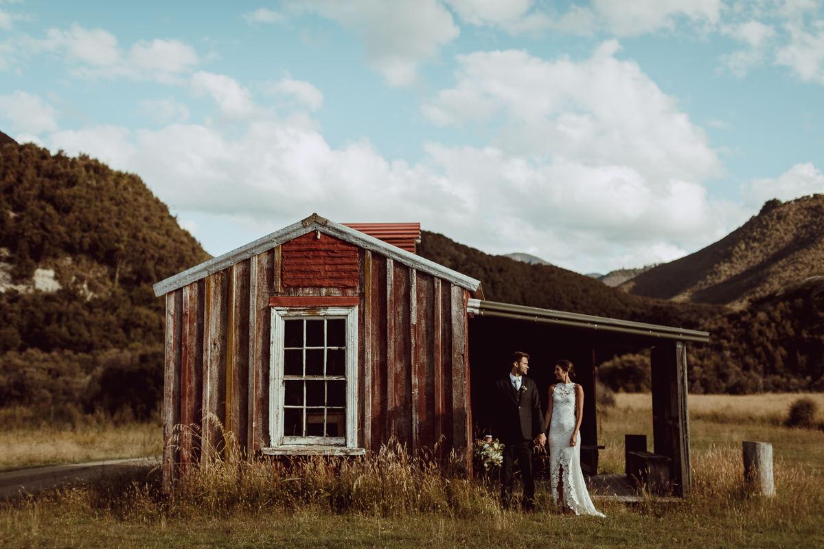 Red Hut Poronui Wedding