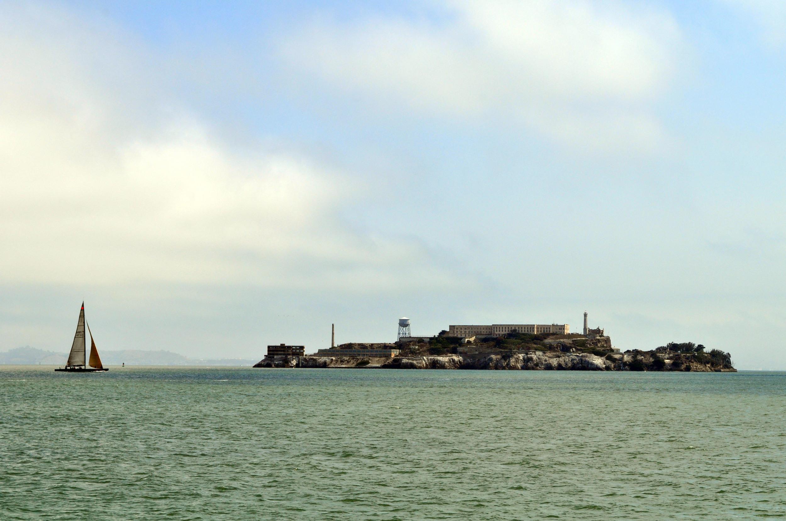 Alcatraz seems to catch great light naturally.