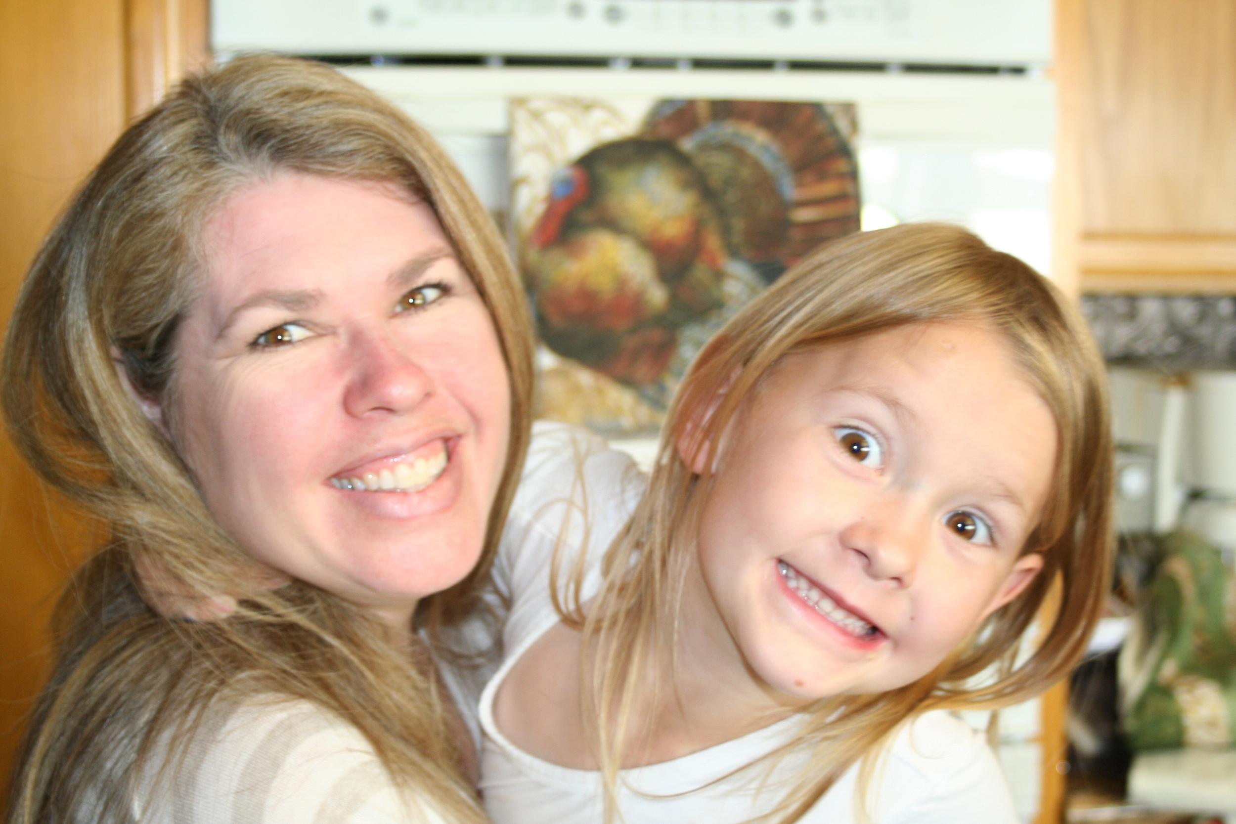 Jen with niece Elizabeth
