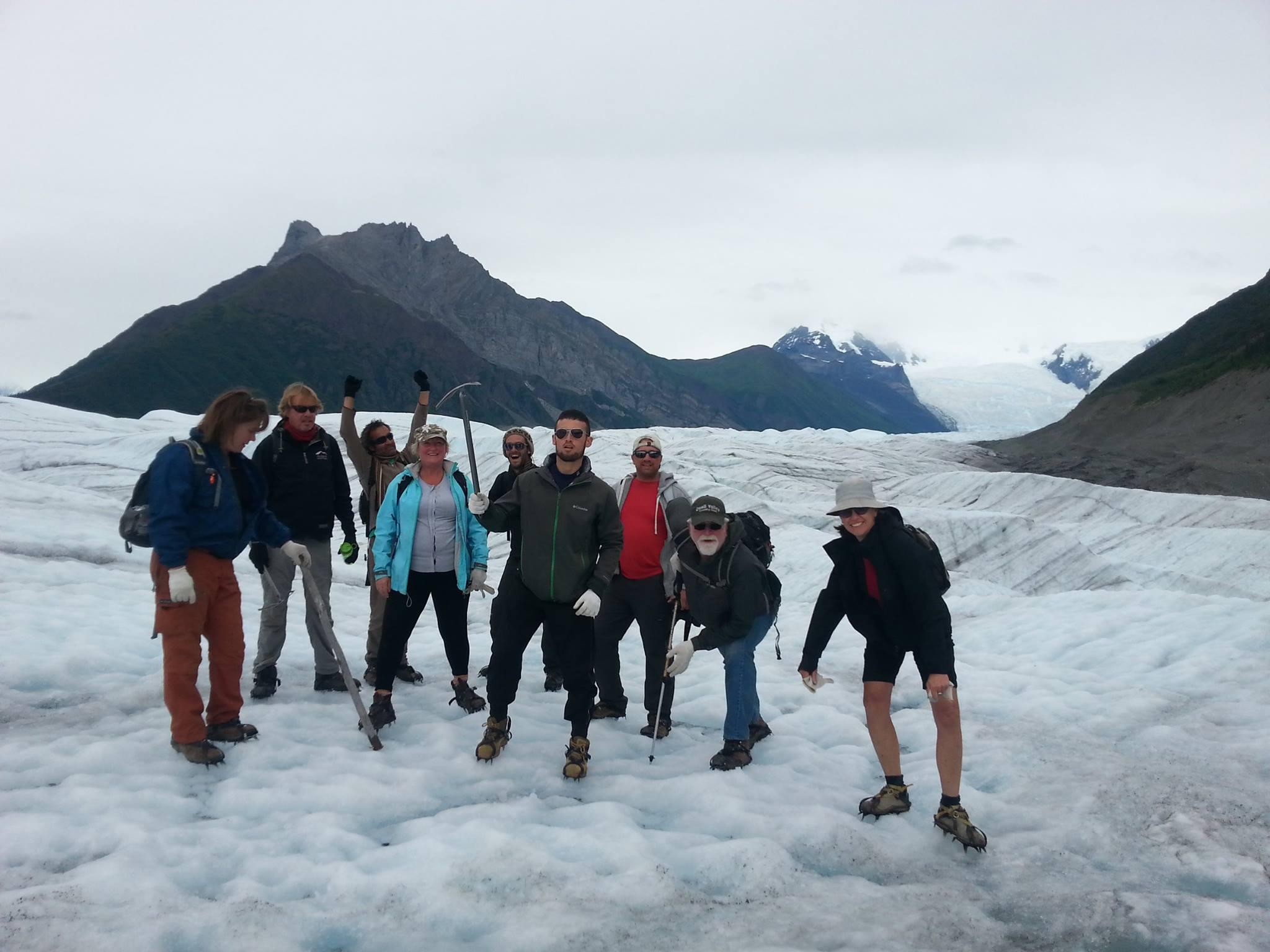 S.M's trip to Glacier Hike in Alaska
