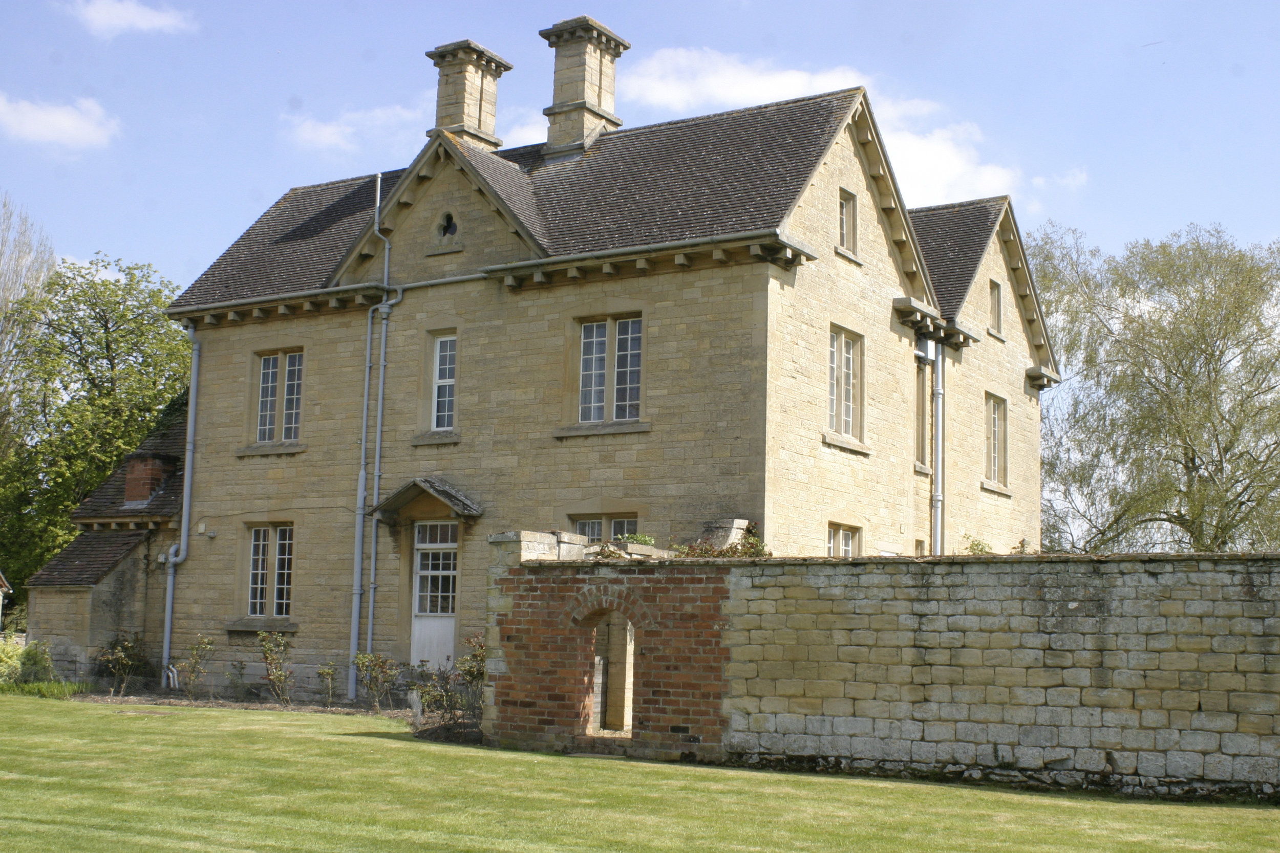 Side view from gardens