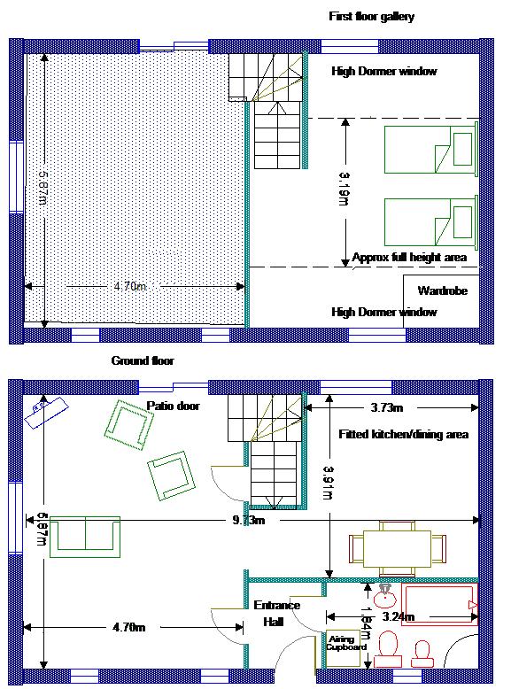 Clock House floorplan