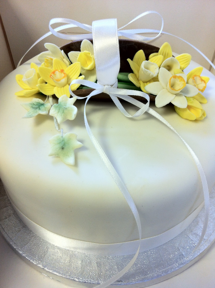 Spring cake tier by Shirley