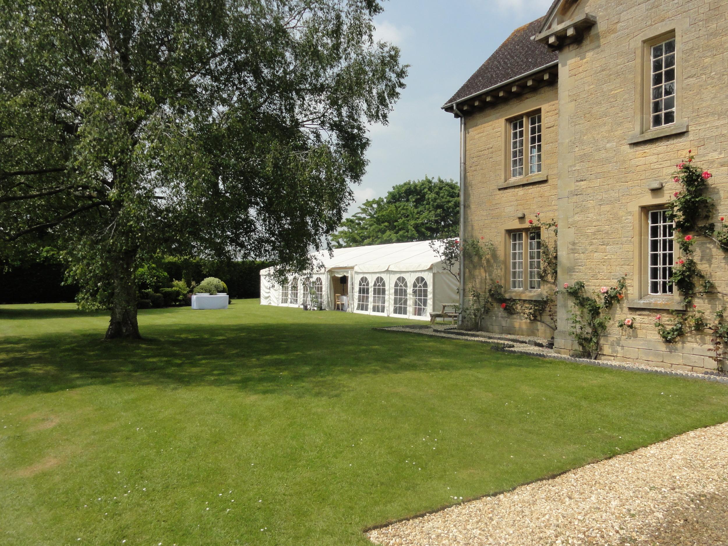 Entrance to The Moretons Farmhouse's walled garden