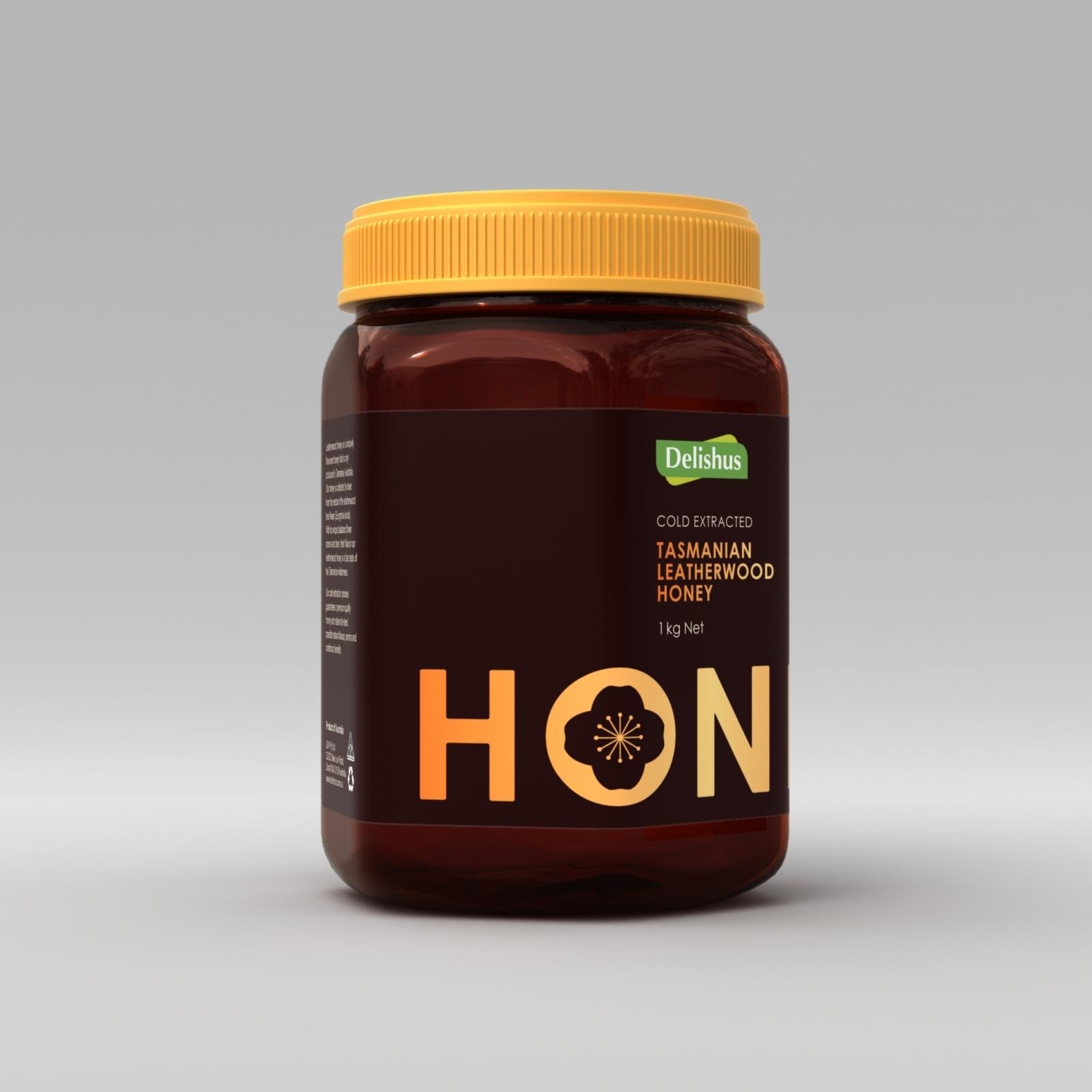 24383 Delishores LW Honey 1kg D8 B Angle.jpg