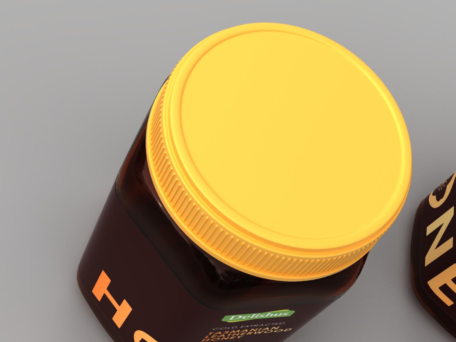 24383 Delishus LW Honey 1kg R8 Top Closeup.jpg