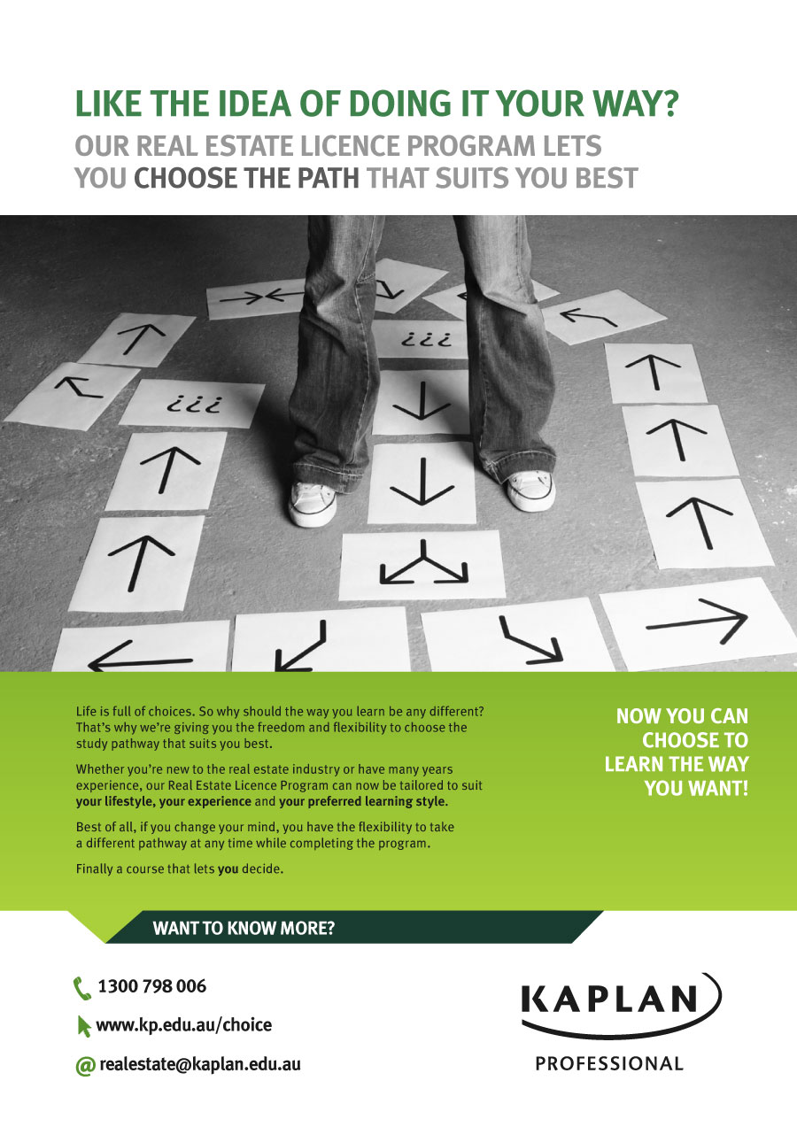 Your Path Campaign Magazine Advertisement