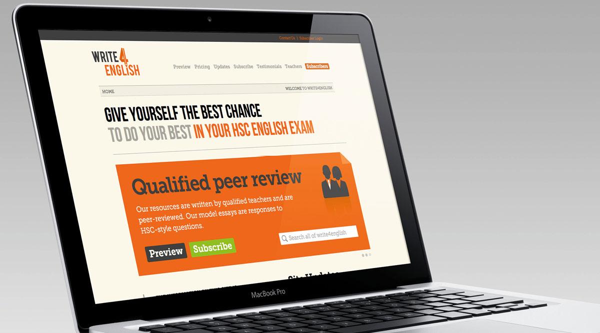 Write4English Website