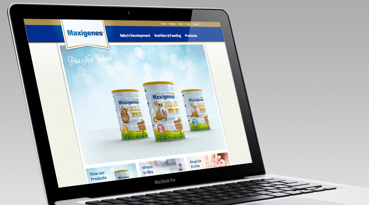 Maxigenes Website