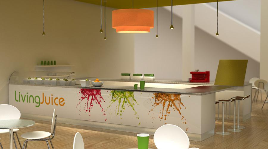 Living Juice Retail Design