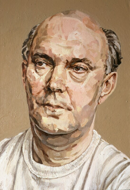 Sir Alan Ayckbourn . Collection , National Portrait Gallery , London