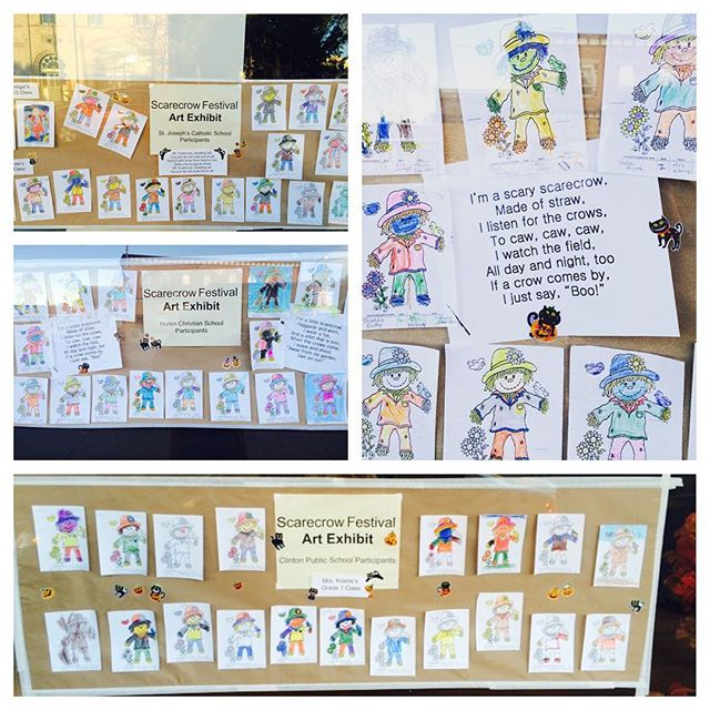 Scarecrow colouring contest #cchbiascarecrow2015 thanks to those who participated