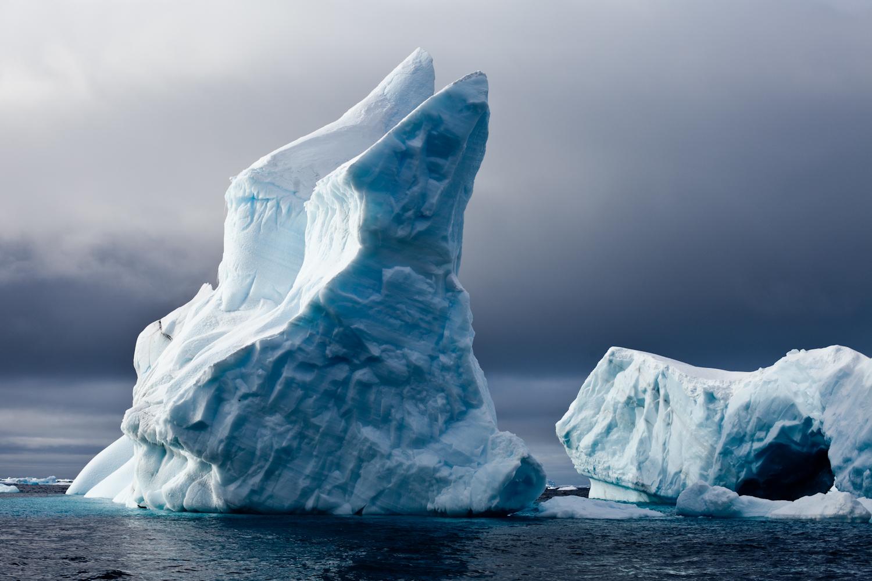 Gaudi inspired iceberg. Cierva Cove.