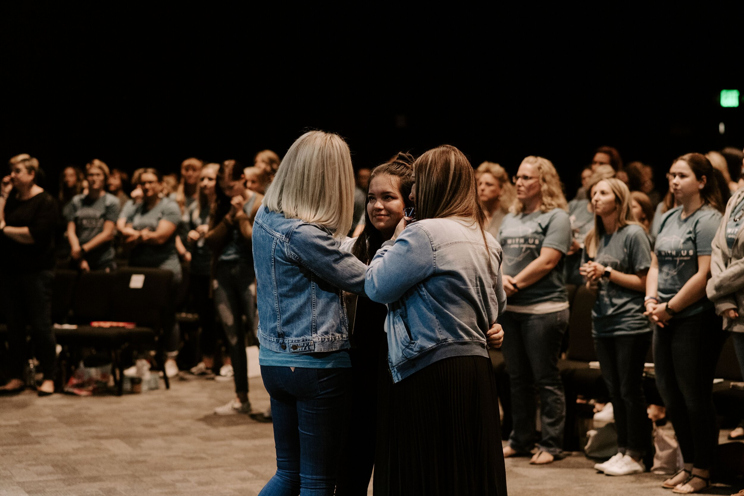 """""""You are everything God wants you to be. You are beautiful. You are stunning. You are gorgeous. That is who you are."""" - -Pastor Charné Pretorius"""