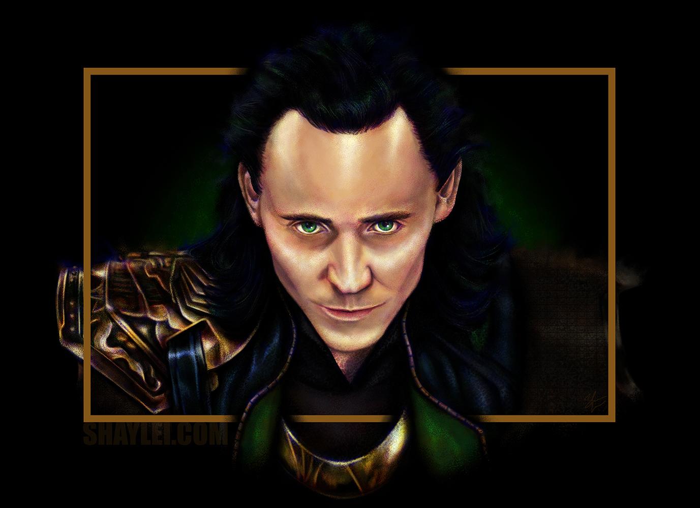 Loki of Hiddleston
