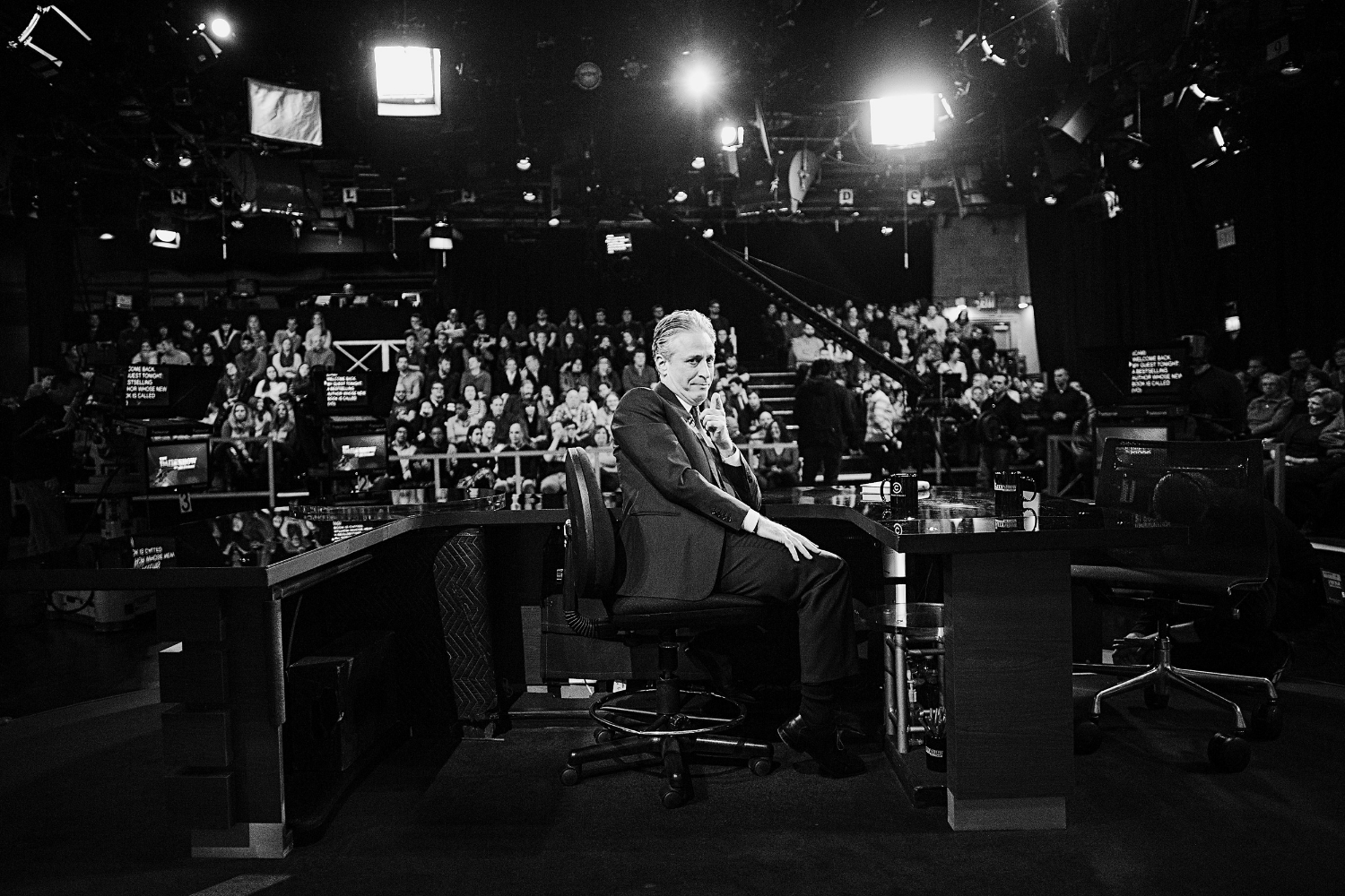 Jon Stewart at the Studio