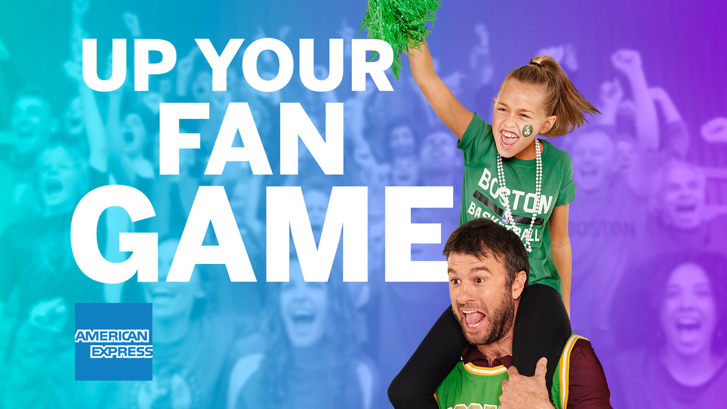 AMEX Up Your Fan Game Slide