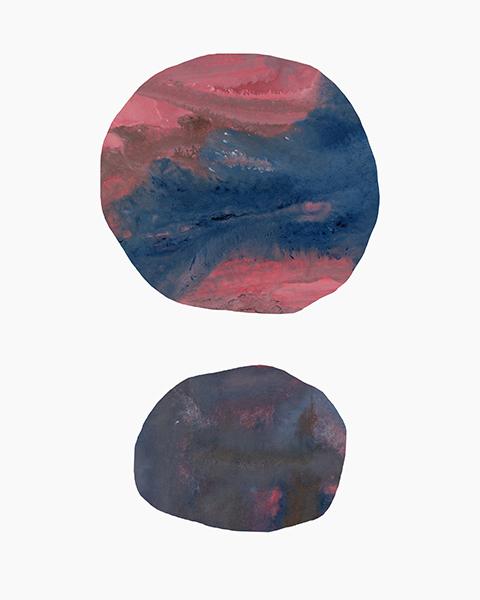 """Captured Moons of Jupiter #11 (16""""x20"""")"""