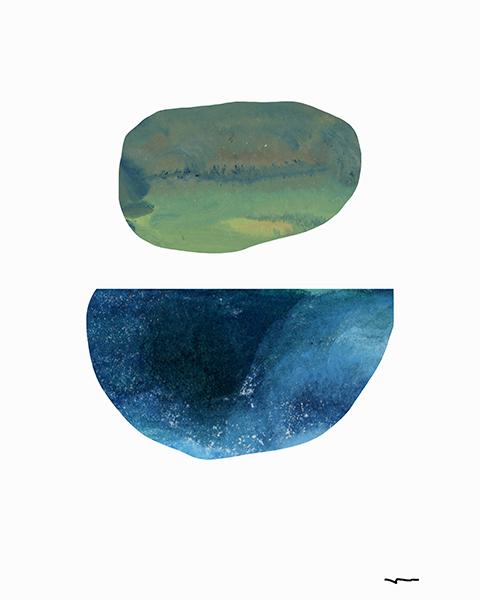 """Captured Moons of Jupiter #12 (16""""x20"""")"""