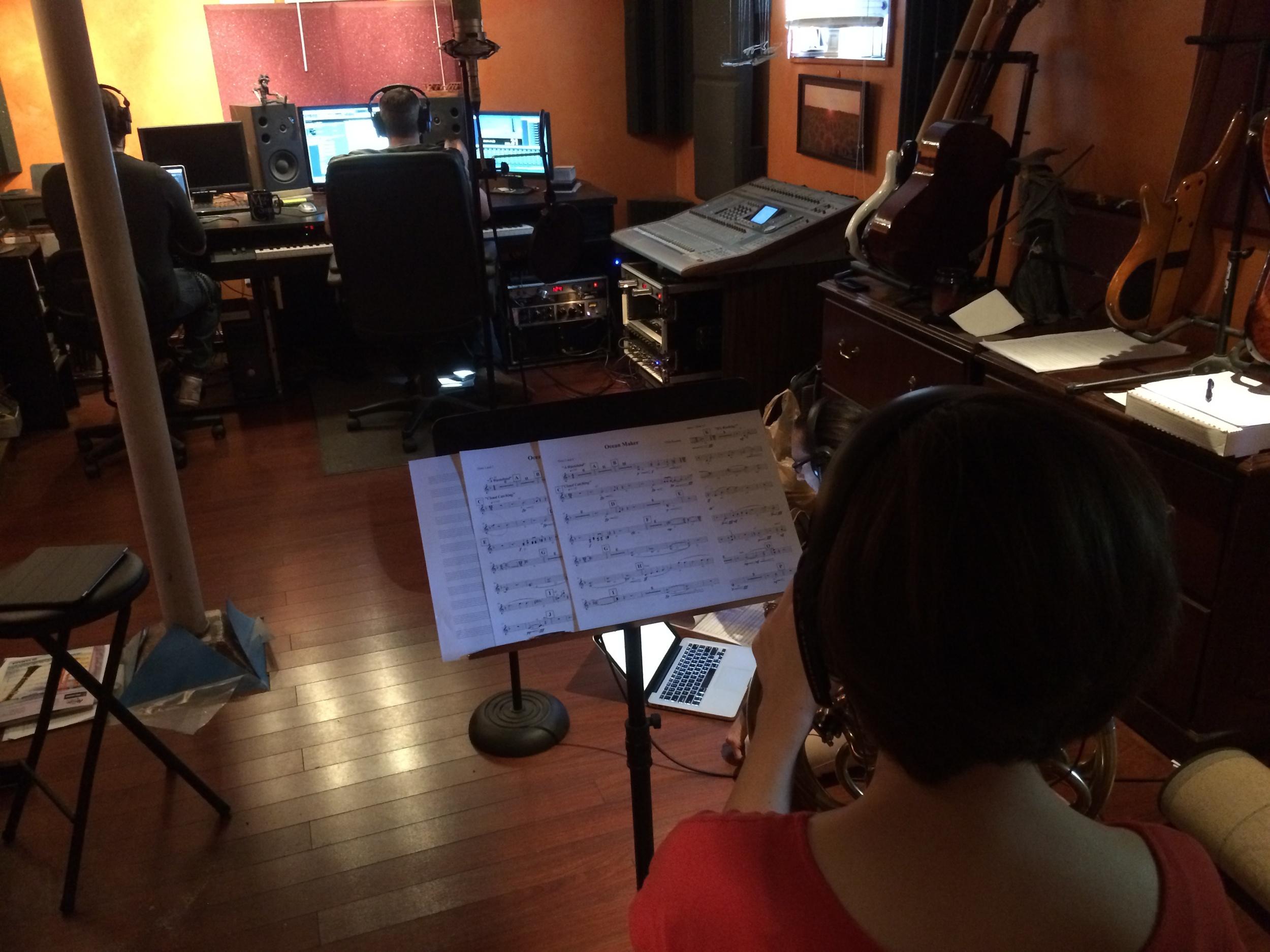 Shot of the studio