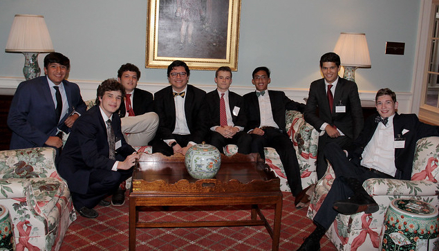 Some members of WA Class of 2015 (L to R), Carlos Guerra, Matthew Granberry, Joey Figueroa, Stephen Rocha, Chase Picheloup, Alvaro Directo, Jacob Gutierrez, and Michael Ullrich.