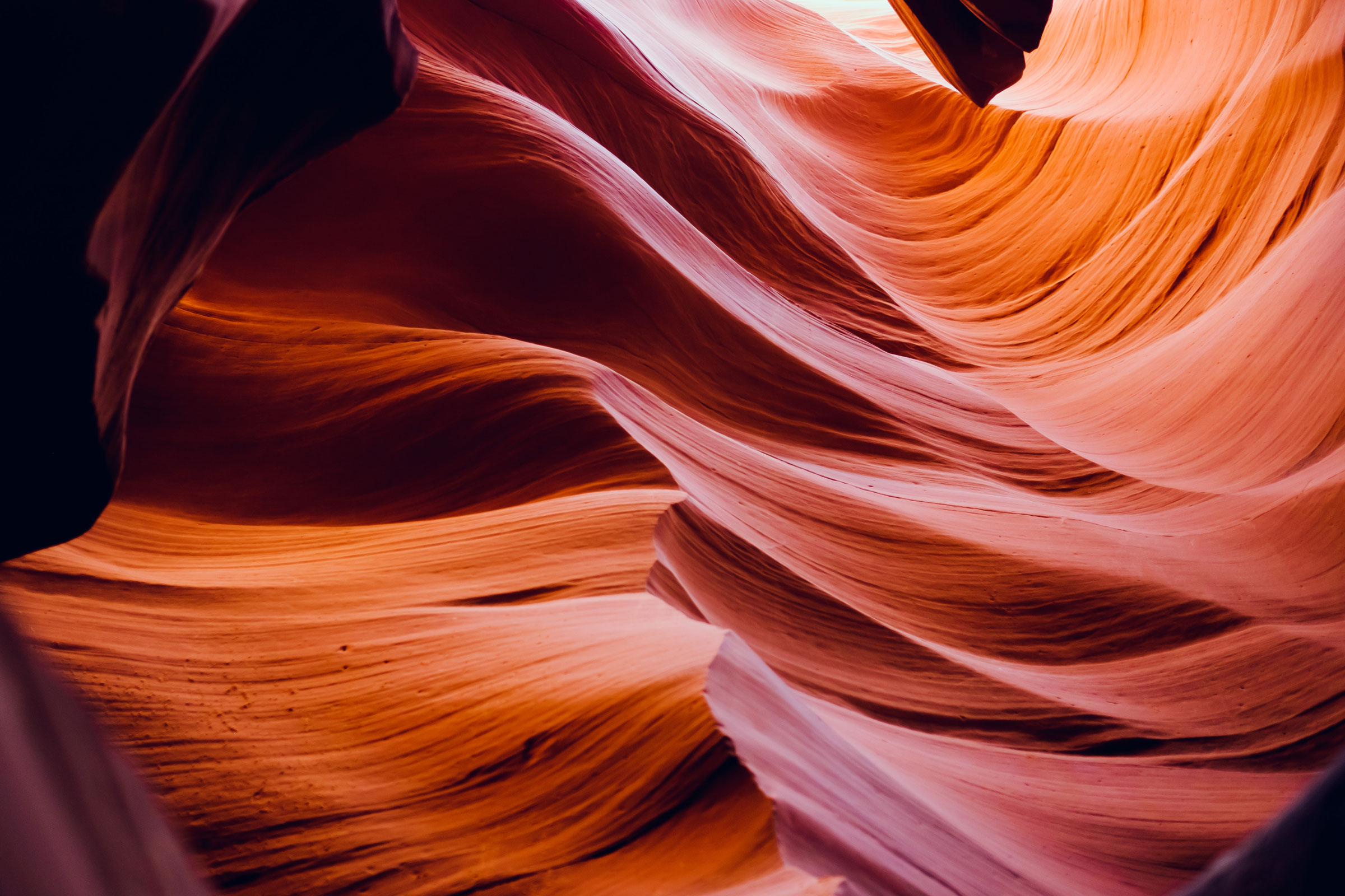 Lower Antelope Canyon, Arizona, photo by Brian Thompson.