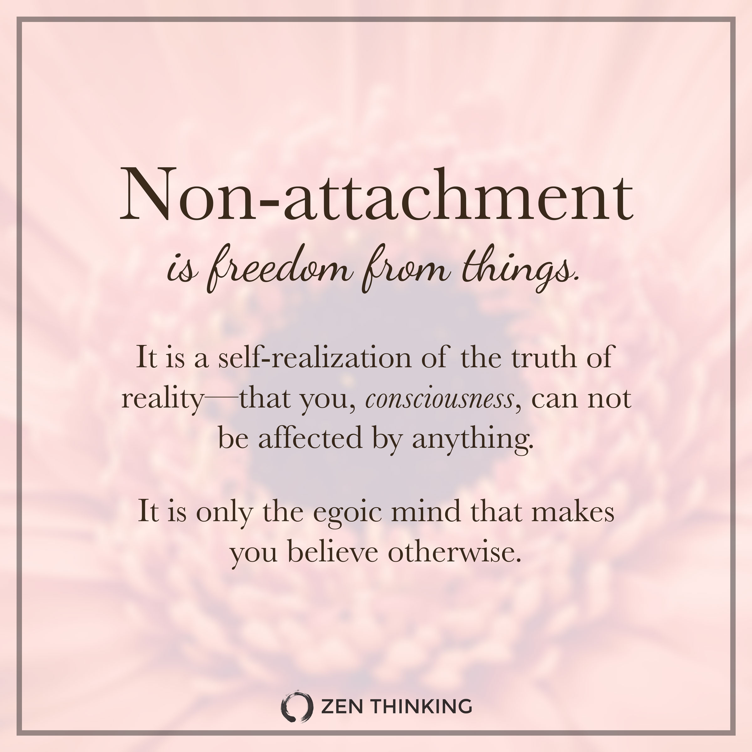 Meaning Detachment