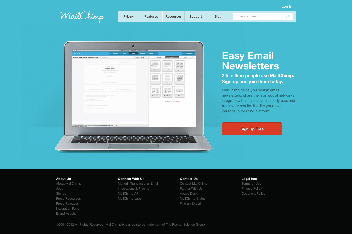 Email Marketing and Email List Manager   MailChimp.png