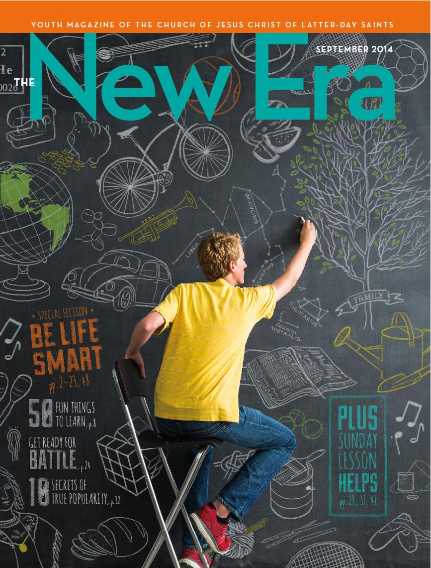 Sept 2014 New Era Magazine cover