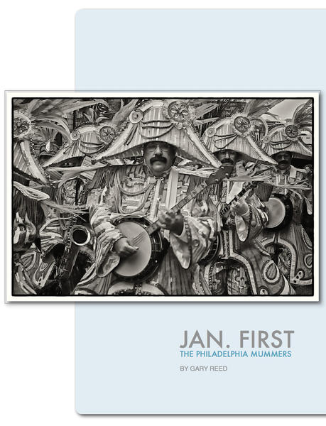 Jan. FirstThe Philadelphia Mummers   Available thourgh iBooks.