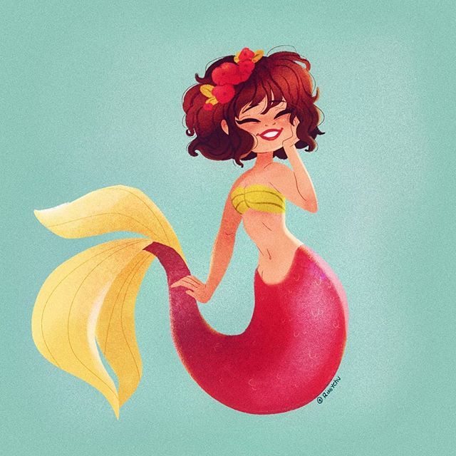 #mermay snuck up on me! Im going to try and catch up but we will see!  Are you participating in mermay this year? What kind of mermaid would you want to see? :) . . . . . . . . . . #mermay2019 #mermaidhair #mermaids #homedecor #tropical #illustragram #illustrationartists #illustrator #cute #girl #artwork #artist #procreate #ipadproart #ipadproartist #digitalart #dailyart #dailyarts #instadaily #mermaidart #instaartists #cartoon #womeningames #womenofillustration #womeninanimation