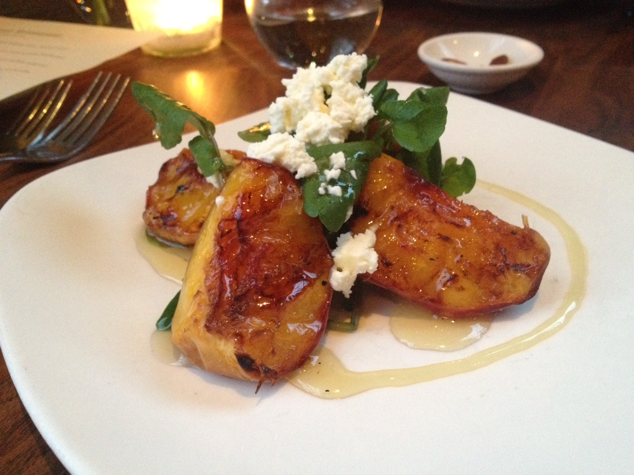 Grilled Blossom Bluff Peaches