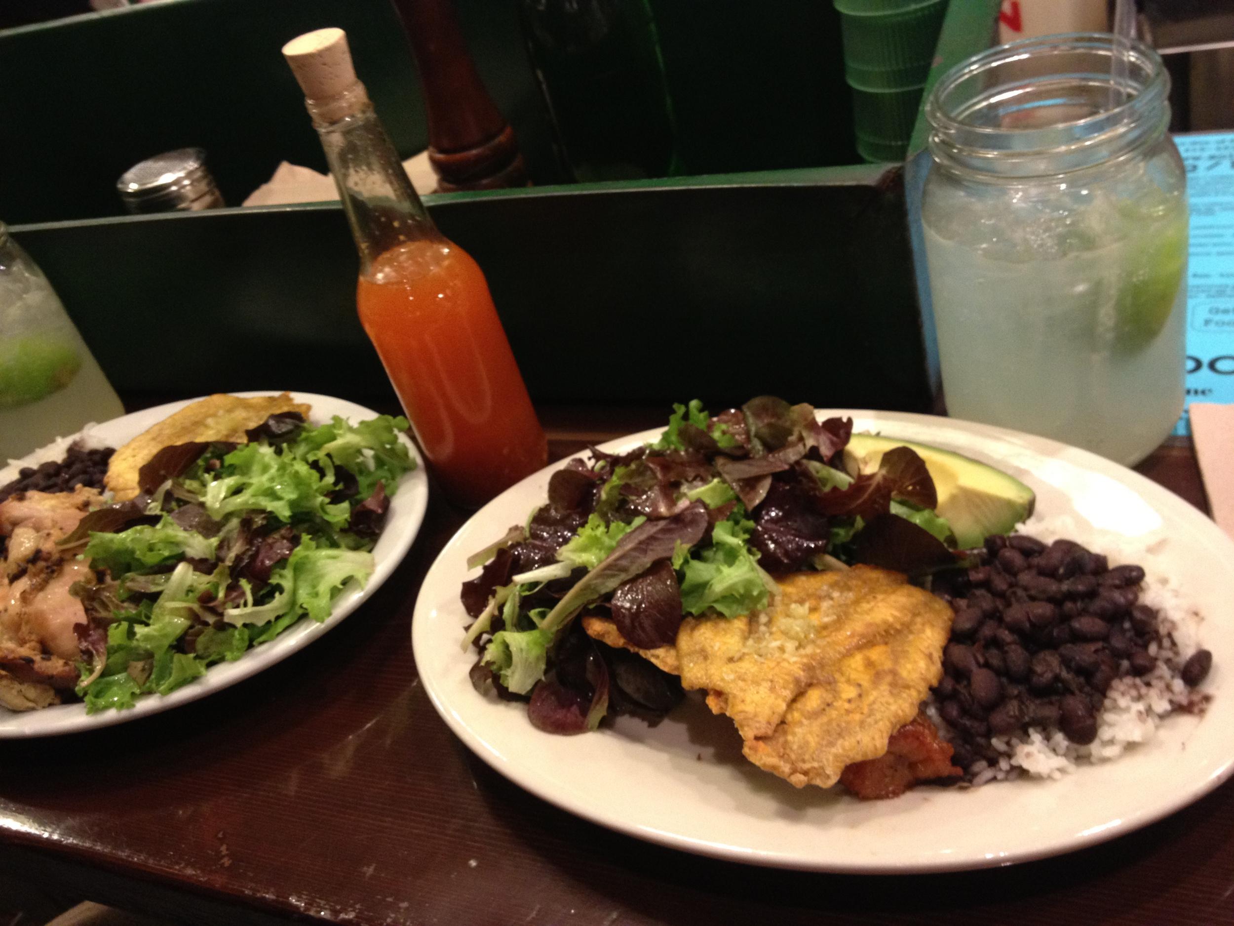 Pollo Al Horno & Vegetariano Combinaciones