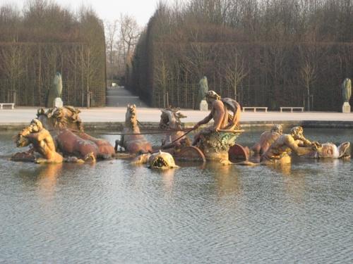 Fountain at Versailles, France