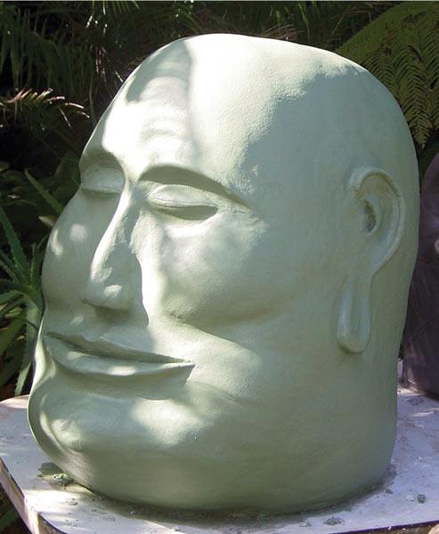 Sculpture created in Brent Sumner's Darjit Sculpture class